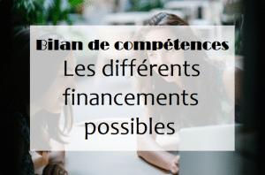 Bilan de compétences : les financements possibles