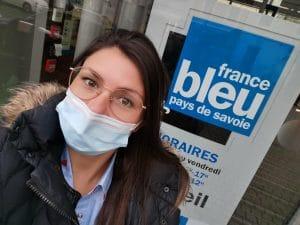 Mon interview sur France Bleu Pays de Savoie !