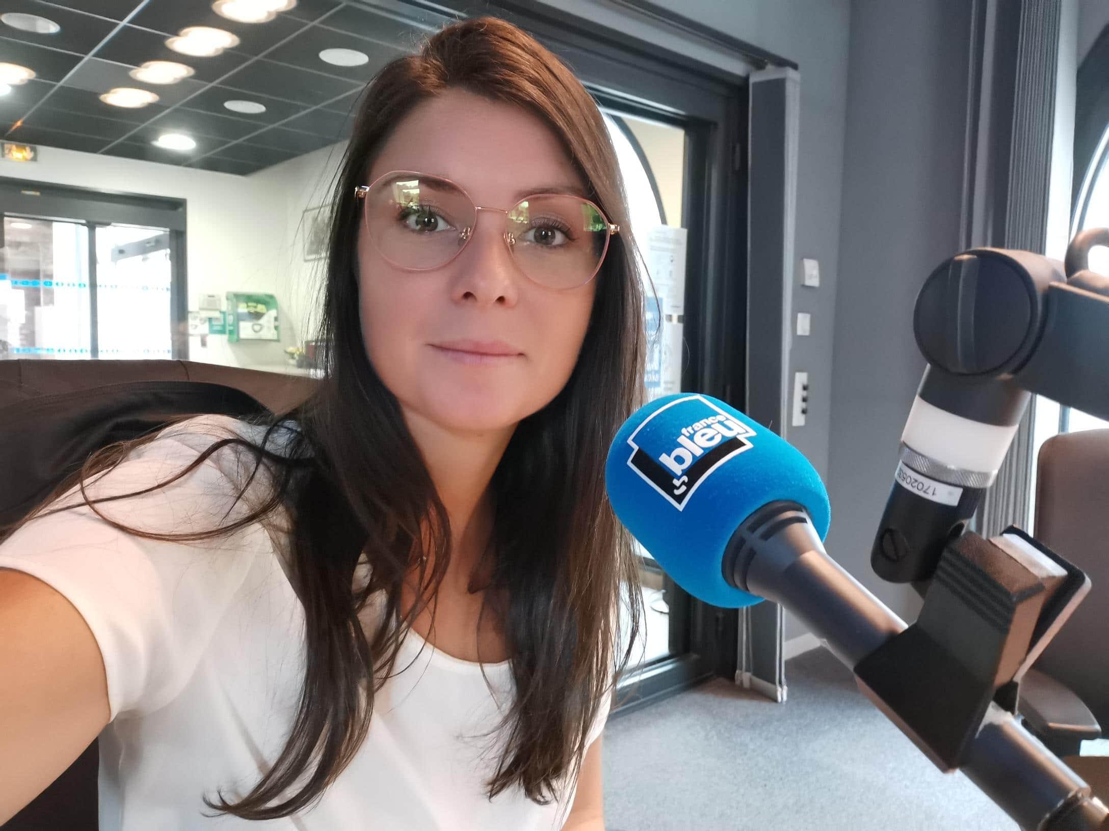 Interviewée par France Bleu Pays de Savoie